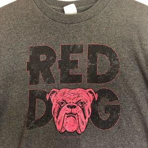 1cf82b89 Alstyle Shirts   Vintage Red Dog Beer Tshirt 90s Xl Bulldog Tee ...